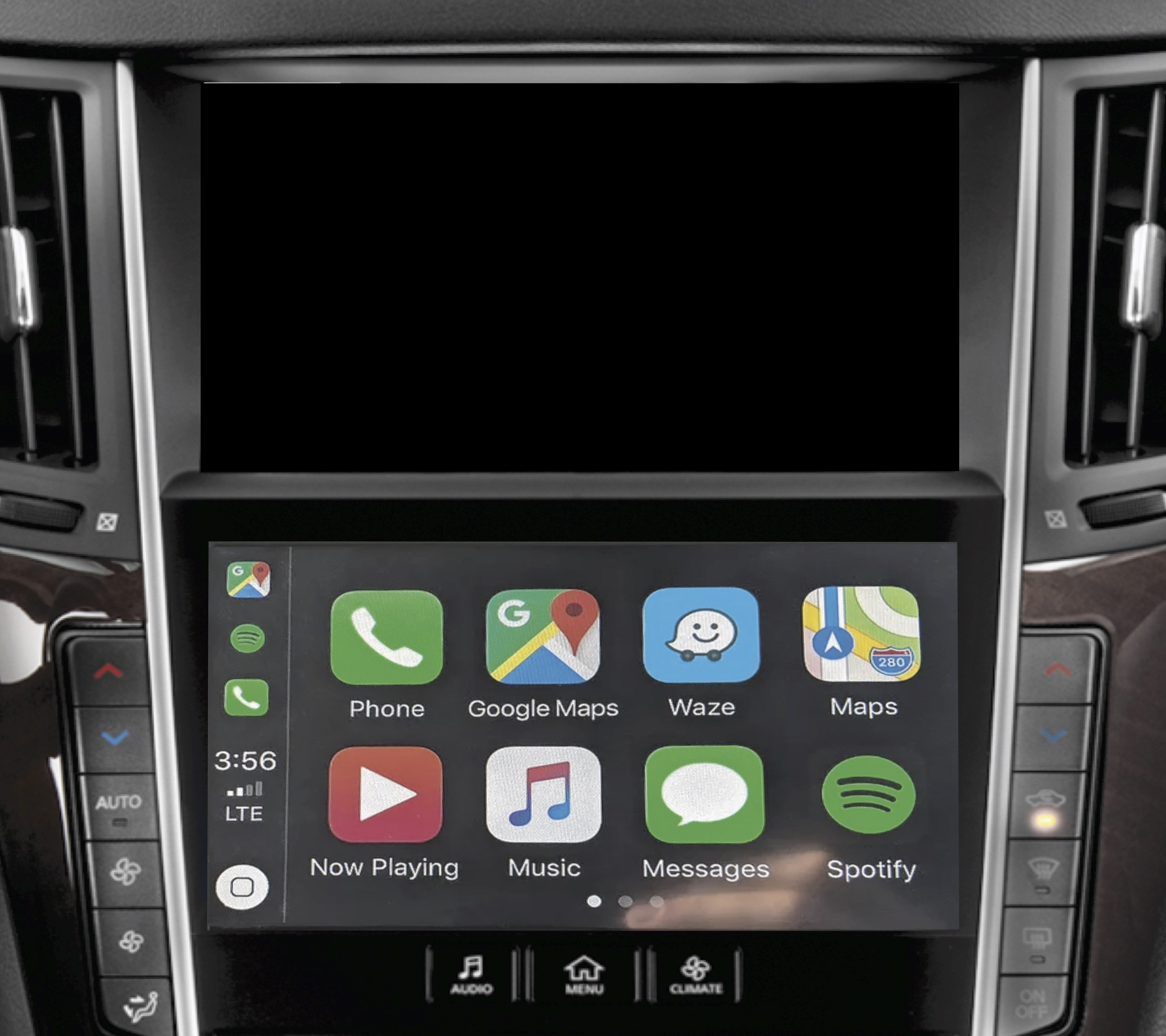 INFINITI QX50 OEM Integrated Apple CarPlay & Android Auto System